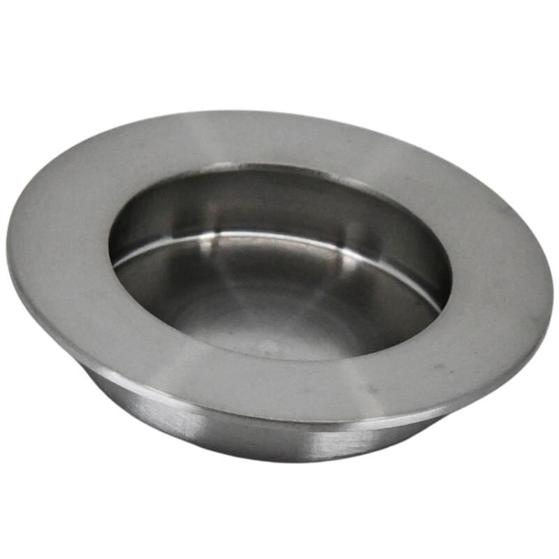 Eurospec FPH1002 & FPH1003 Circular Flush Pull - Satin Stainless