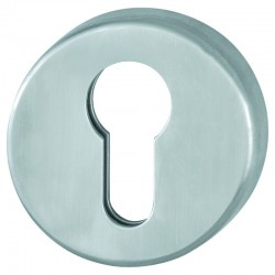 HOPPE SECUSAN Stainless Steel Euro Profile Escutcheon