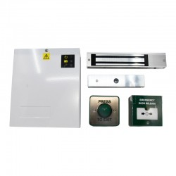 12V DC High Specification Single Door Maglock Access Control Kit