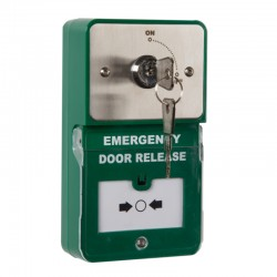 Dual Unit Keyswitch Maintained and Emergency Break Glass