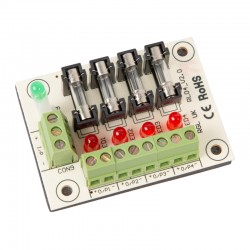 4 Individually Fused Output