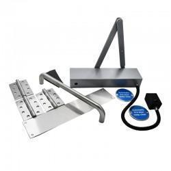 Fire Door Ironmongery Kit for Corridor - Emag Hold Open Door Closer - Basic Specification