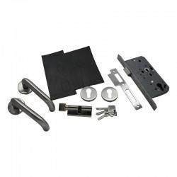 Fire Rated Door Lock and Door Handle Set - Sashlock Kit - Basic Specification