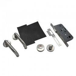 Fire Rated Door Lock and Door Handle Set - Bathroom Lock Kit - Basic Specification