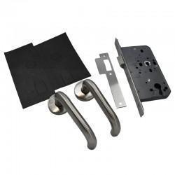 Fire Rated Door Lock and Door Handle Set - Lever Latch Kit - Basic Specification