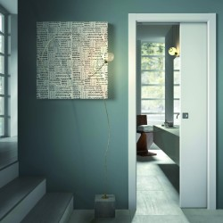 Scrigno S Tech Single Sliding Pocket Door System with Jambs
