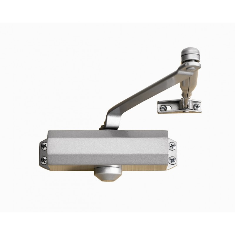 Briton 121CE EN 3 Door Closer Silver