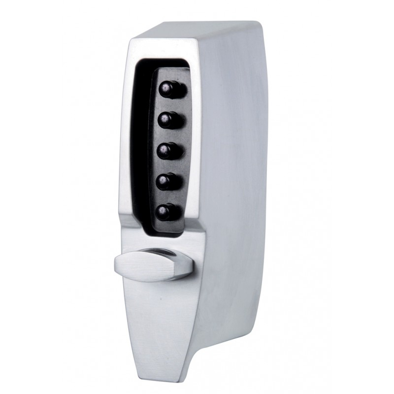 Kaba Simplex 7104 Digital Lock Satin Chrome Door