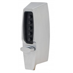 KABA Simplex 7106 Digital Lock with Nightlatch Satin Chrome