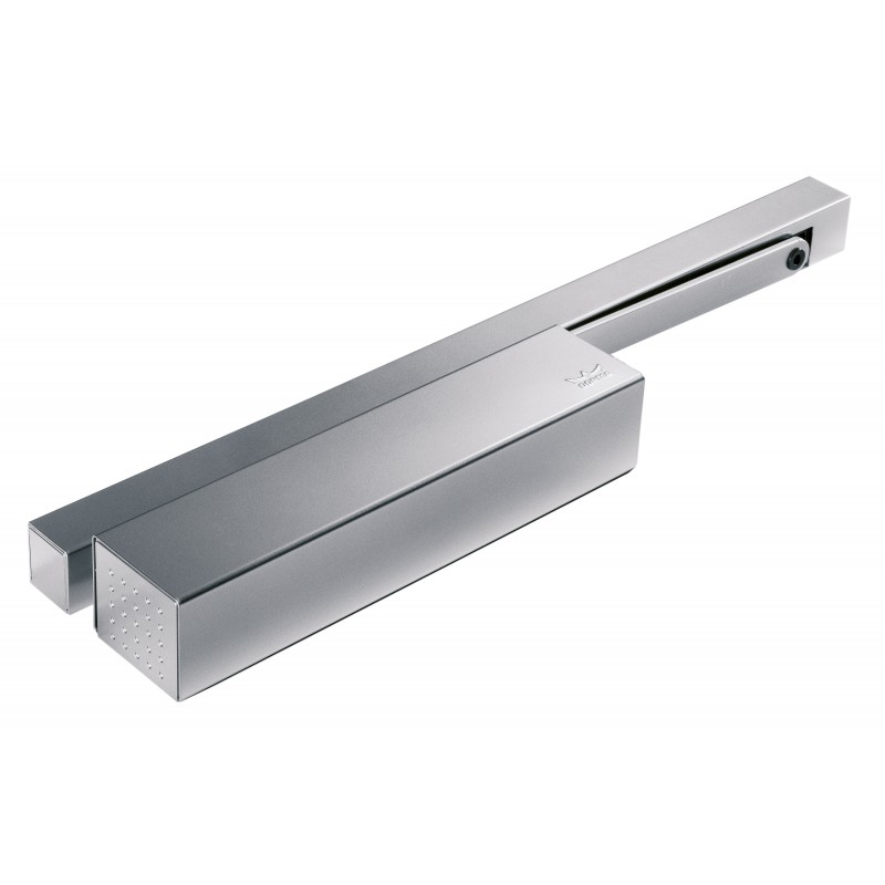 DORMA TS93EMF Electromagnetic Hold Open Guide Rail Door Closer Silver