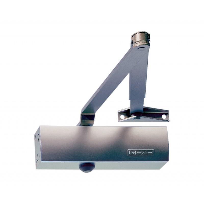 GEZE TS1500 EN 3/4 Door Closer Silver