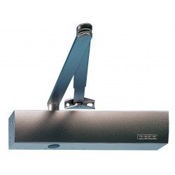 GEZE TS2000NVBC EN 2-4 Door Closer Silver
