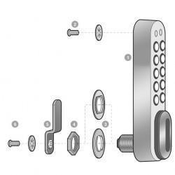 Codelocks KL1000 Electronic Cabinet Lock