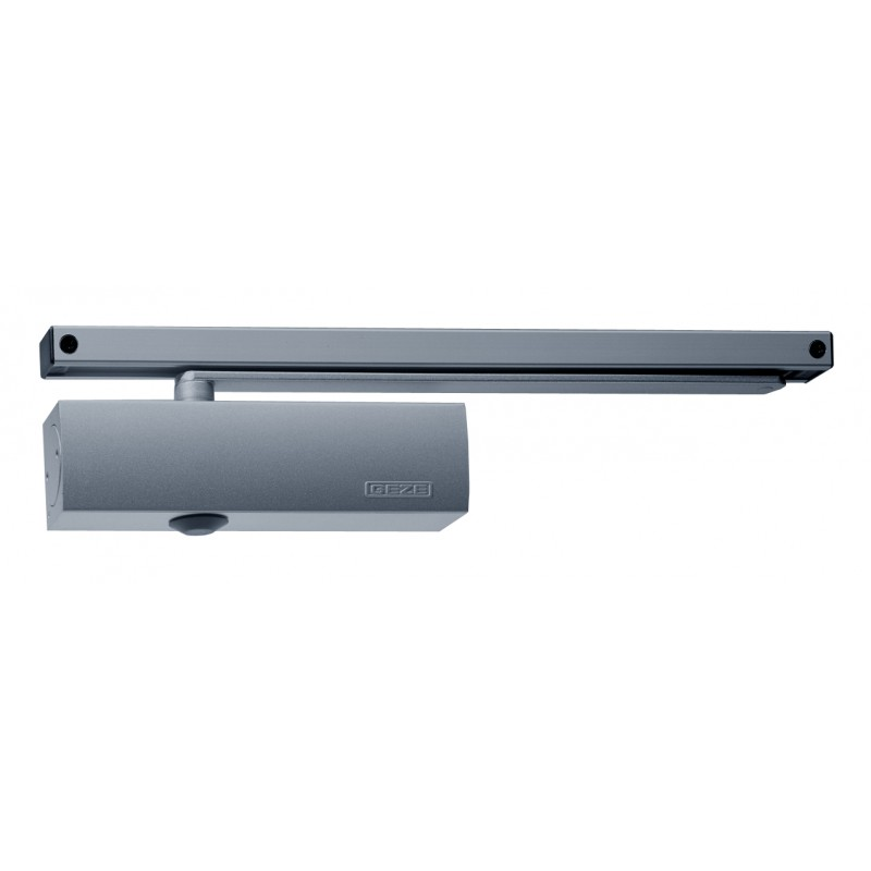 GEZE TS3000ECBC EN 2-3 Slide Arm Door Closer Silver
