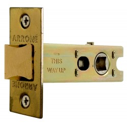 76mm Satin Chrome Heavy Duty Tubular Mortice Latch
