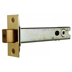 76mm Satin Chrome Bathroom Tubular Mortice Deadbolt