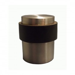 Satin Stainless Steel Floor Mounted Door Stop (B)