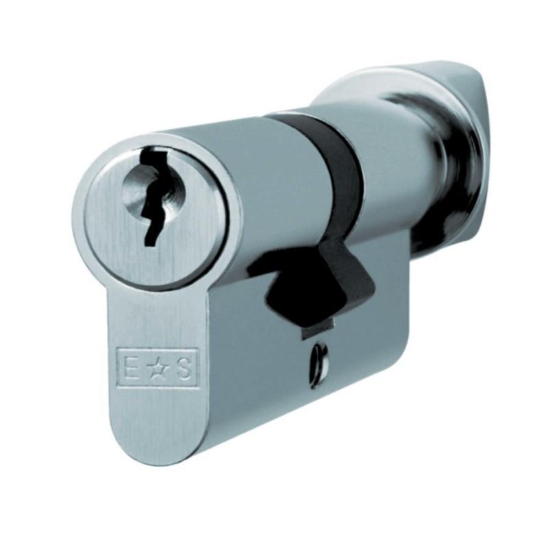 71mm 5 Pin Euro Key & Thumbturn Cylinder