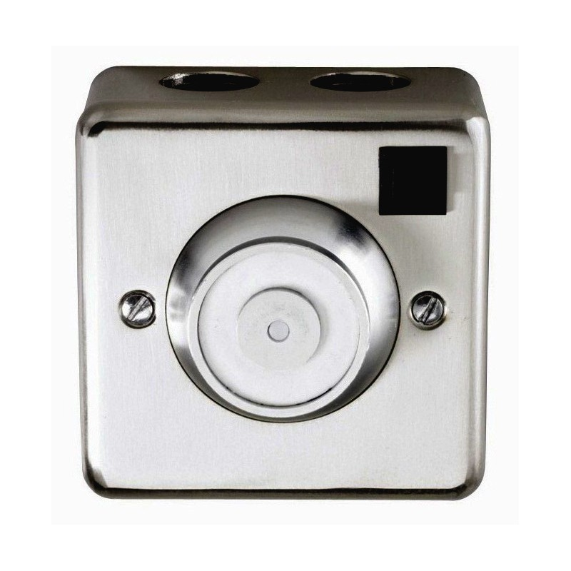 Briton 533 24V DC Electromagnetic Door Holder-Silver
